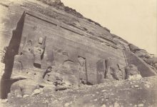 This is the earliest photo of the Abu Simbel temple taken in 1854 by John Beasley Greene. Image Credit: Wikimedia Commons / Public Domain.