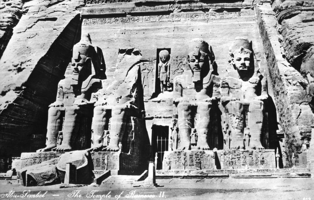 A Front view of the Great Temple before 1923. Image Credit: Wikimedia Commons / Public Domain.