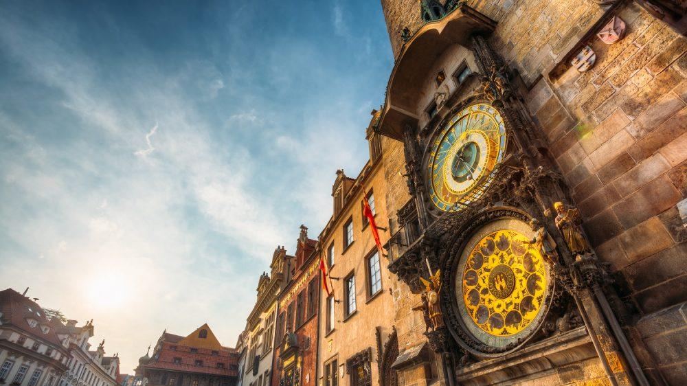 Orloj in Prague. Shutterstock.