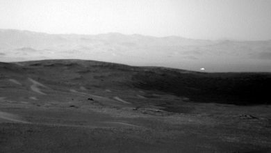 Photo of NASA's Curiosity Rover Snaps Image of 'White  Orb' Flying on Mars