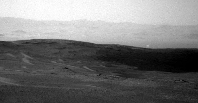 Glowing Light on Mars. Image Credit: NASA.