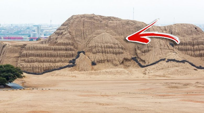 A view at the Huaca del Sol. Shutterstock.