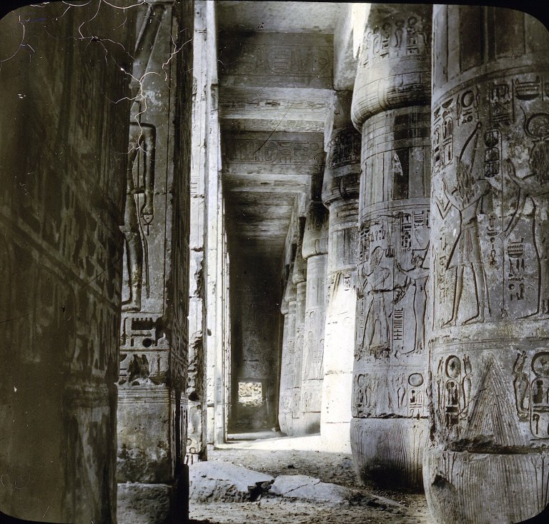 Medinet Habou, Thebes, Egypt. Image Credit: Brooklyn Museum / Public Domain.