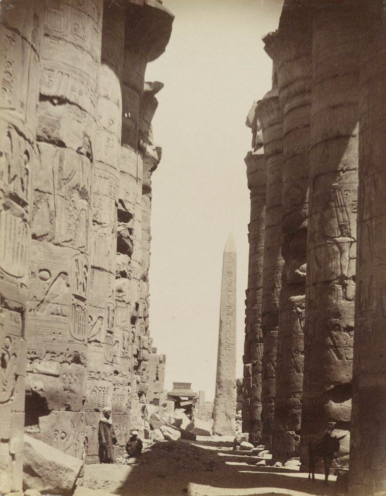 Karnak Obelisk, 19th century. Image Credit: Brooklyn Museum / Public Domain.