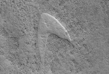 Photo of NASA Just Spotted Star Trek's Logo on the Surface of Mars