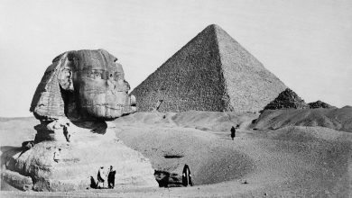 Photo of 20 Rare, Vintage Images of the Pyramids and the Sphinx That Will Leave You Stupefied