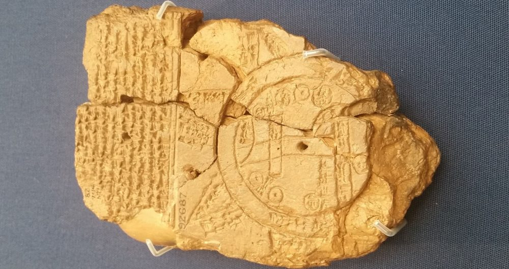 Ancient Babylonian Map of the World. Image Credit: Wikimedia Commons / CC BY-SA 4.0.