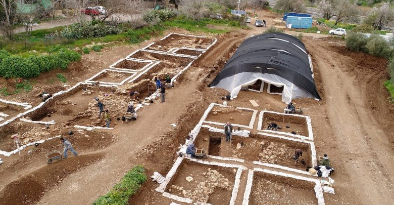 Excavation site. Image Credit: Yaniv Berman, Israel Antiquities Authority.