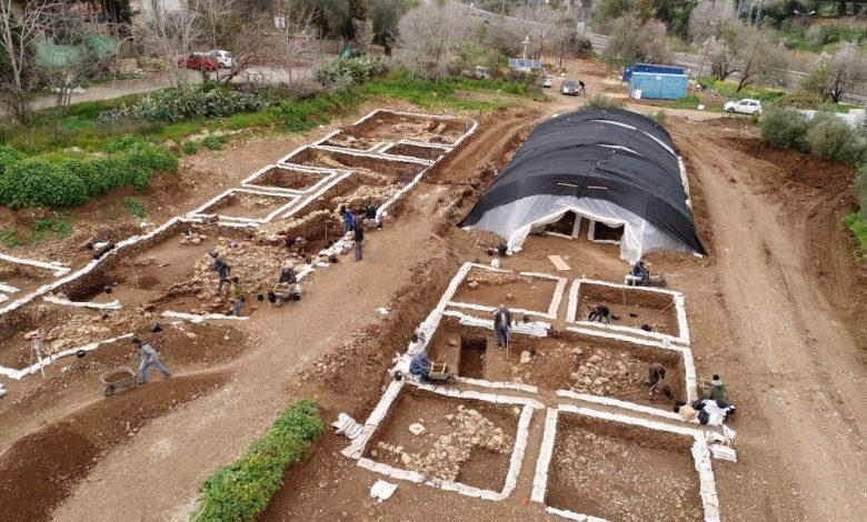 Excavation site. Image Credit: Yaniv Berman, Israel Antiquities Authority.