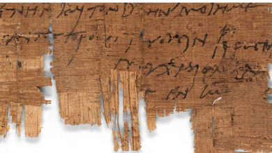 Photo of An Ancient Egyptian Papyrus Turns out to be the Oldest Christian Documentary Letter