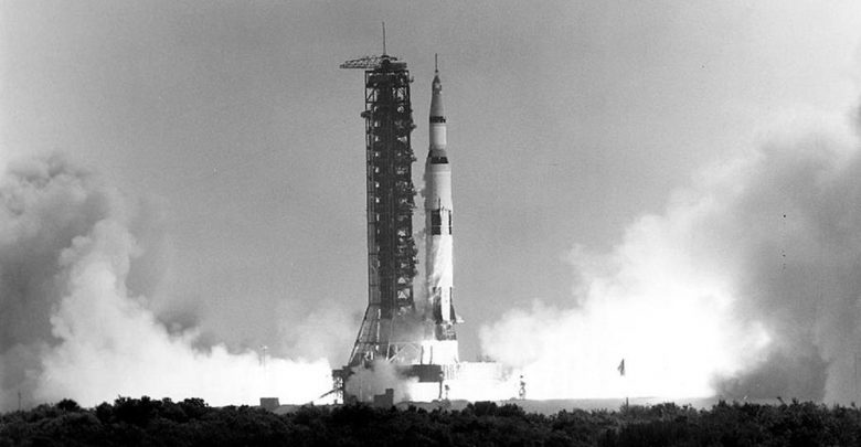 50 Years Ago Apollo 11 Launches Into History. NASA.