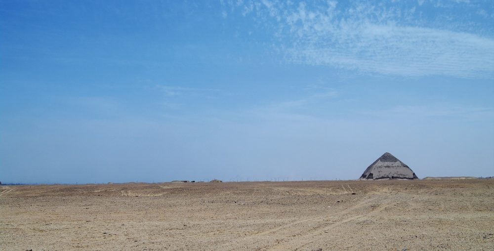 Bent Pyramid at Dashur. Shutterstock.