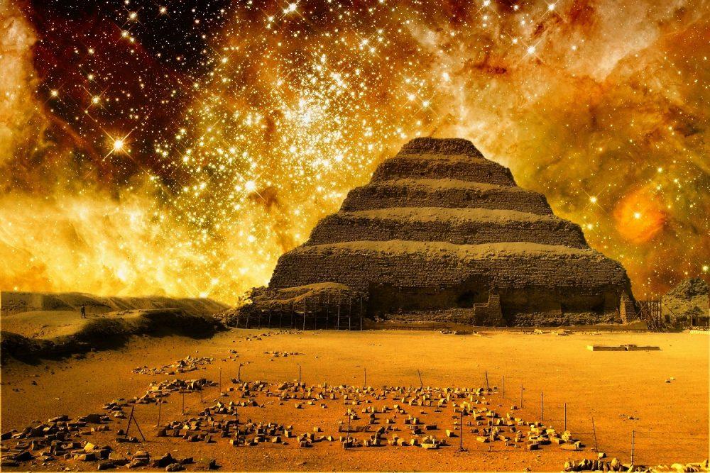 The Pyramid of Djoser. Shutterstock.