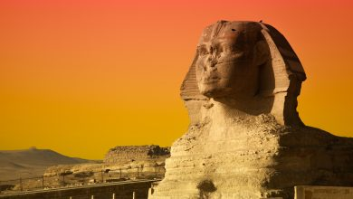 The Great Sphinx of Giza. Shutterstock.