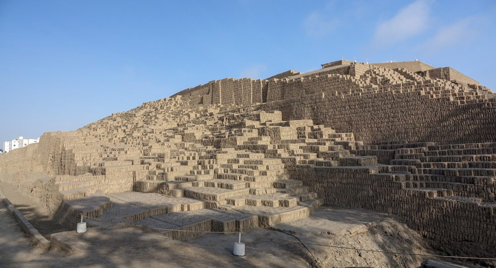A side view of the Huaca Pucllana. Shutterstock.