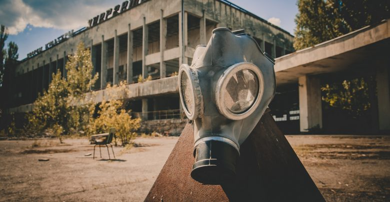 An image of an old gas mask. Shutterstock.