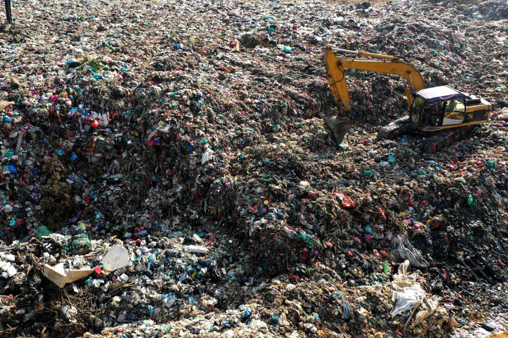 Plastic waste in Asia. Shutterstock.