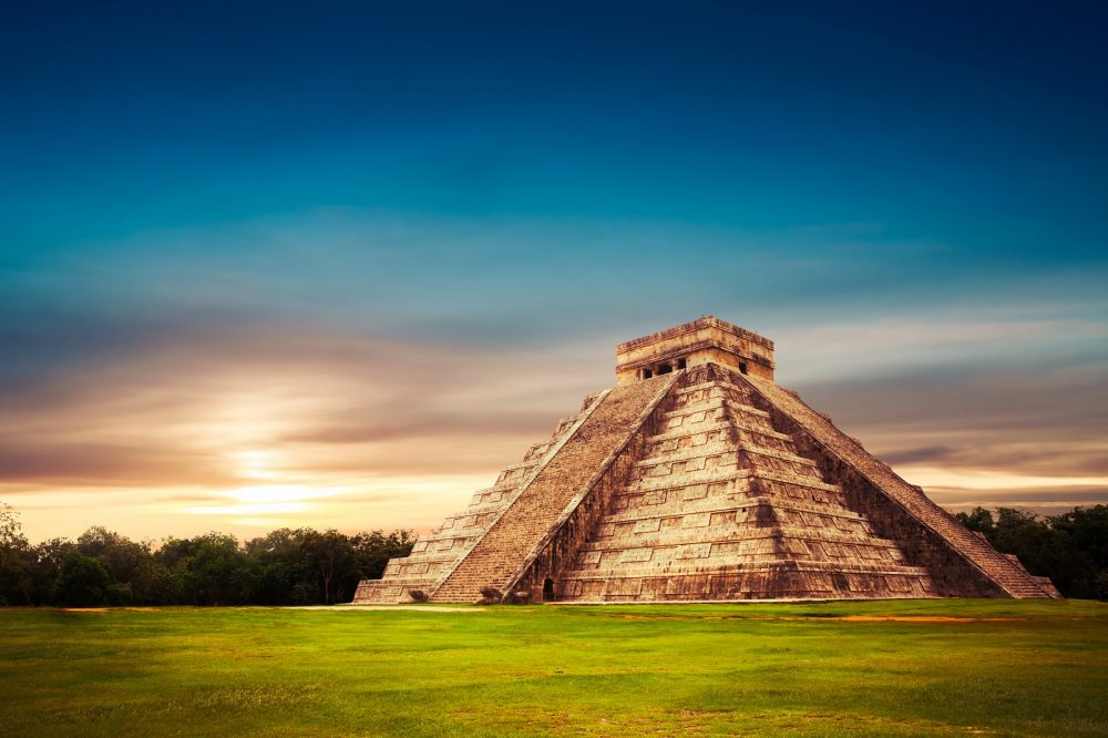 Pyramid of Kukulkan at Chichen Itza. Shutterstock.