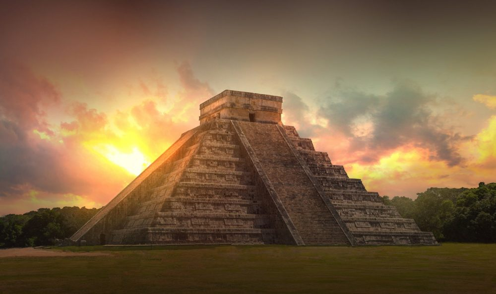 The Pyramid of Chichen Itza. Shutterstock.