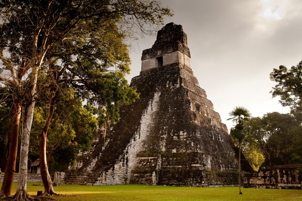 The Pyramid of Tikal. Shutterstock.