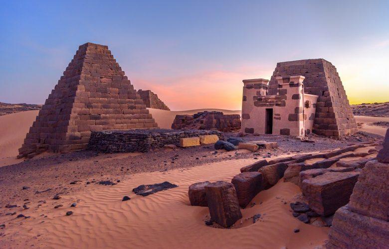 The Pyramids of Sudan. Shutterstock.