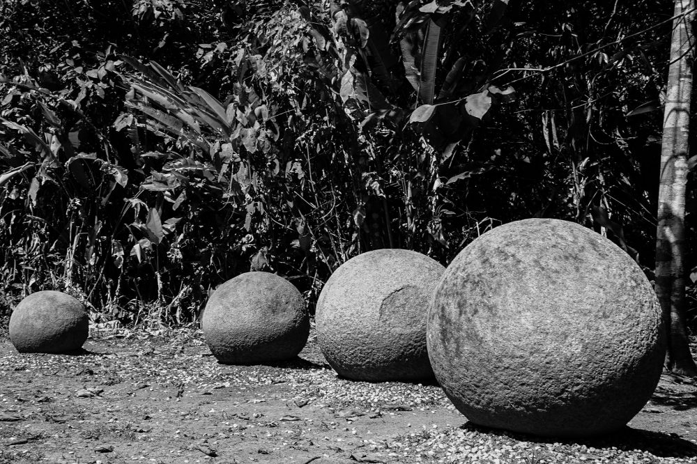 Stone Spheres of the Diquís Delta in Costa Rica. Shutterstock.