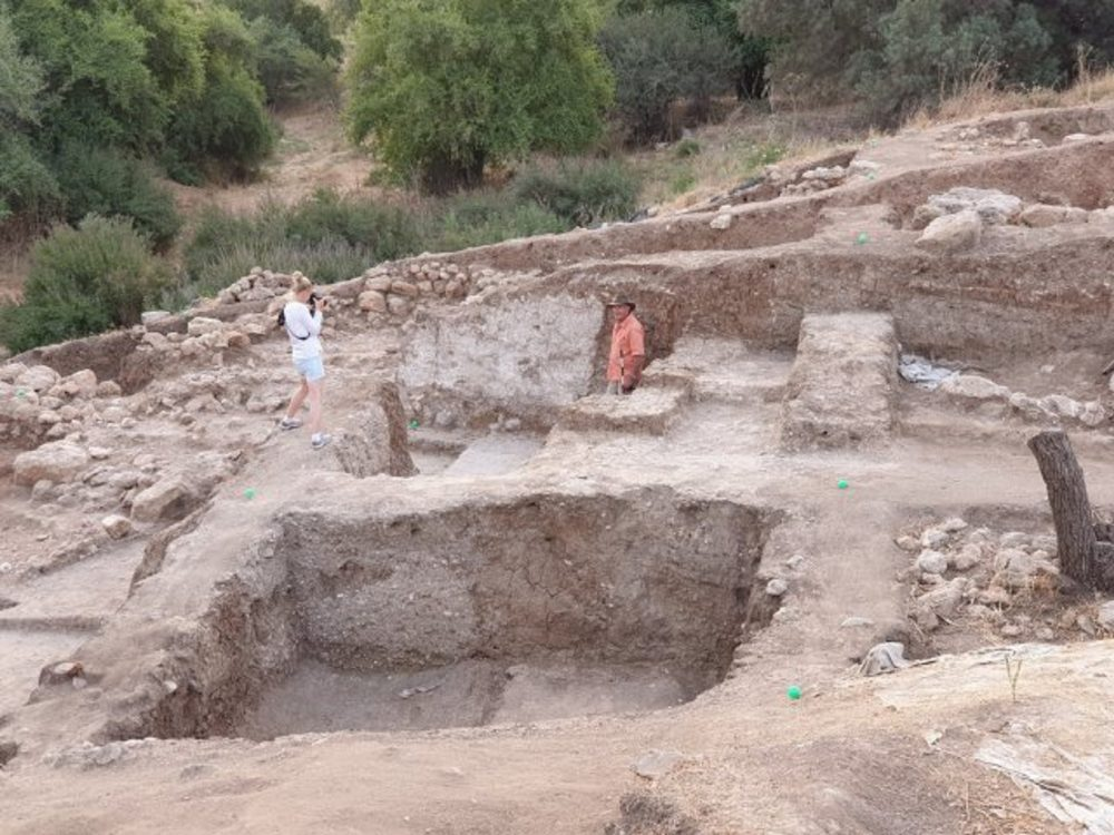 The ruins of the ancient city of Gath. Image Credit: Gath Archaeological Project.