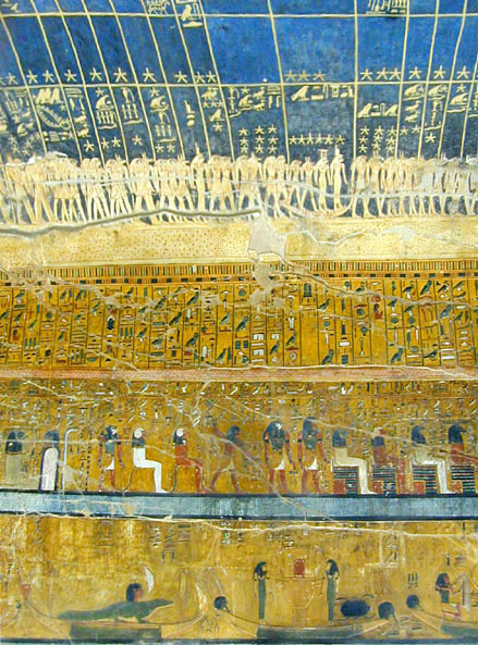The intricately decorated tomb of Seti I. Image Credit: Wikimedia Commons / CC-BY 2.0.