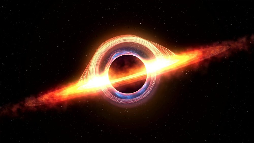 Artists rendering of a Black Hole. Shutterstock.