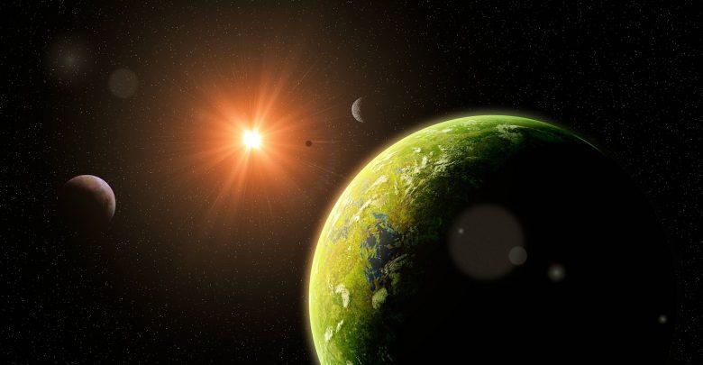 An artists rendering of an Earth-like planet. Shutterstock.