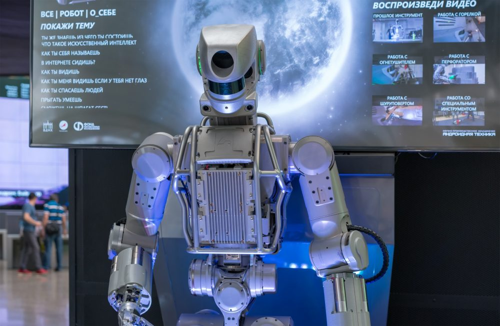 FEDOR has become Russia's first robot in space. Shutterstock.