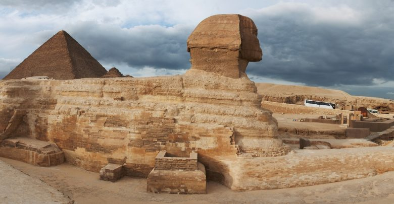 Panorama View of the Great Sphinx. Shutterstock.