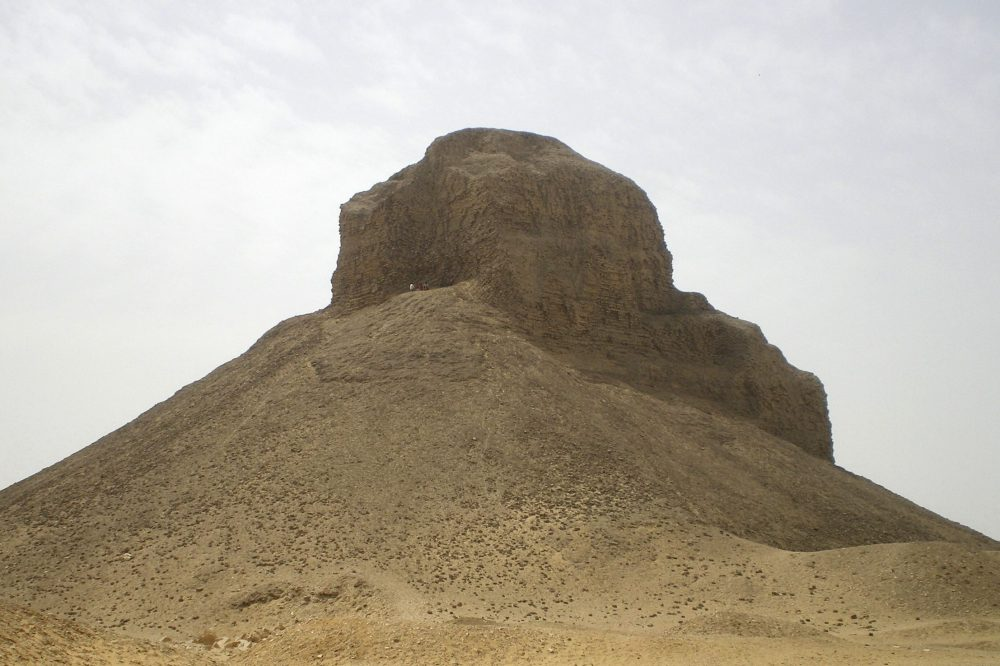 "The ""Black Pyramid"" of king Amenemhat III. Image Credit: Wikimedia commons / CC BY-SA 3.0."