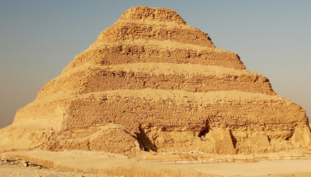 The 6-tier, 4-sided structure is the earliest colossal stone building in Egypt. Shutterstock.