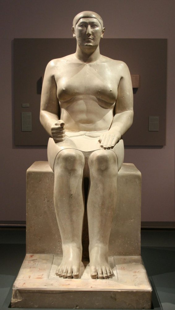 The Statue of Hemiunu. Image Credit: Wikimedia Commons / CC BY-SA 3.0.