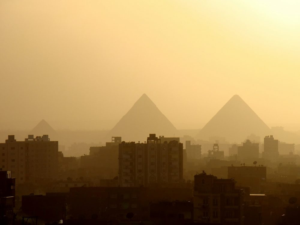 Thousands of years of history fused with modern Cairo. Shutterstock.