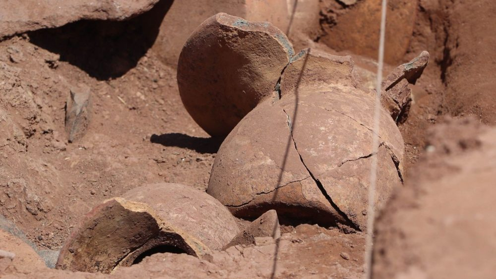 Archaeologists hope the discovery will lead to a royal burial. Image Credit: EFE/ Martin Alipaz.