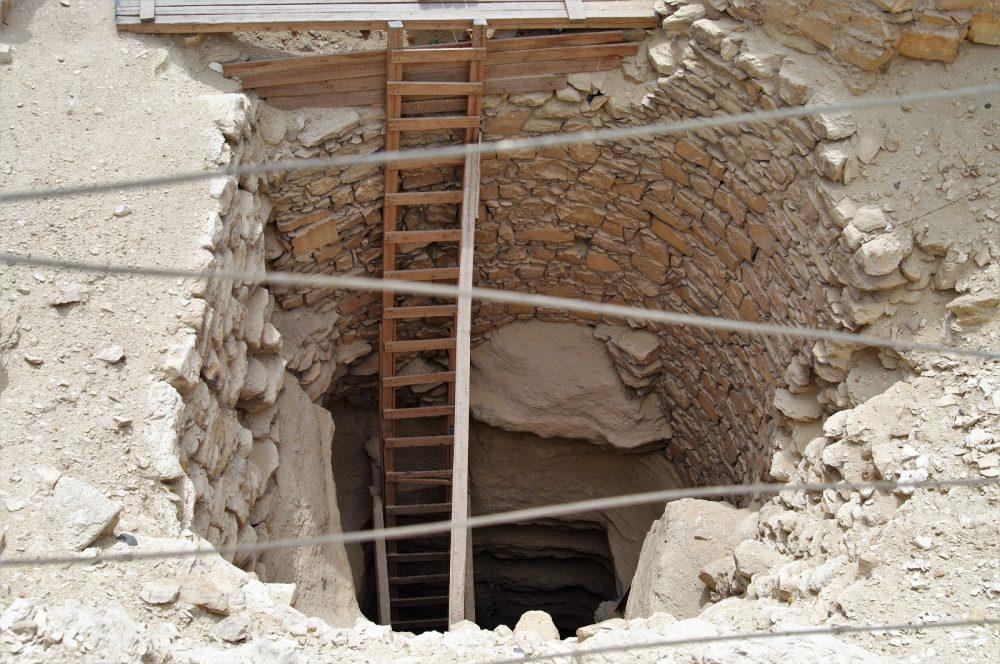 Djoser's Pyramid Complex entrance. Shutterstock.