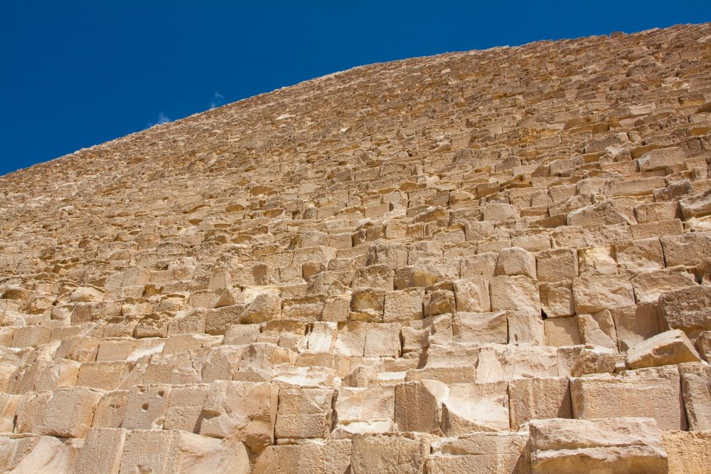 Mainstream scholars argue the Great Pyramid was built as Khufu's eternal resting place. Shutterstock.