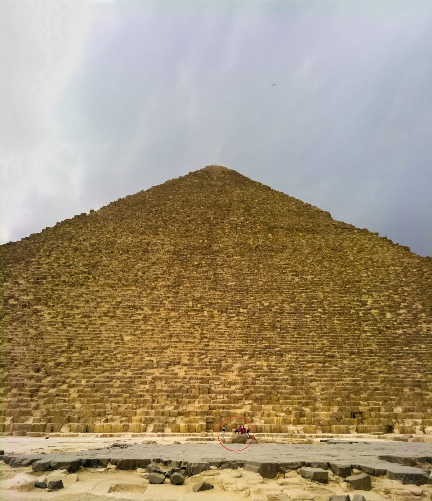 If the Pyramid was really built in twenty years' time, it means that a bock of stone had to be moved into place about every 5 minutes of each day and night. Shutterstock.