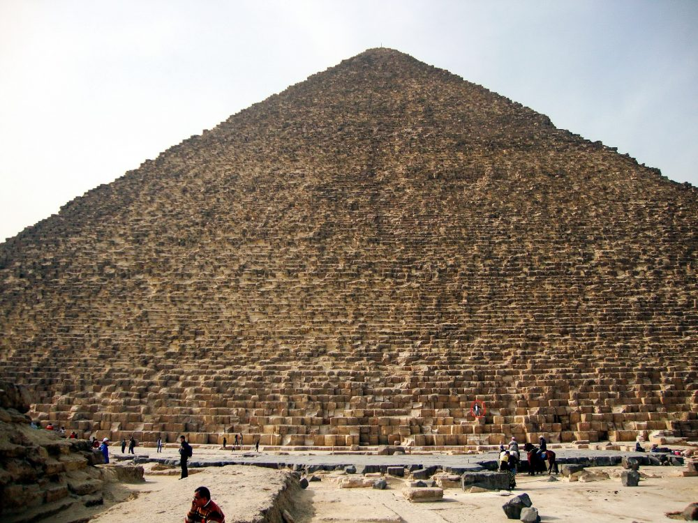 The Pyramids is believed to have been built in around 20 years. Shutterstock.