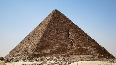 The Pyramid of Menkaure. Shutterstock.
