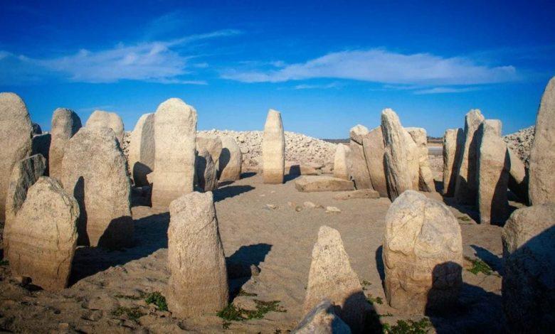 A view of the stones that make up the Dolmen of Guadalperal. Image credit: Ruben Ortega Martin/ Raices de Peraleda.