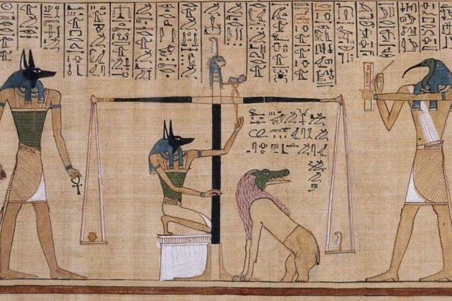Papyrus of Hunefer. Image Credit: Wikimedia Commons.
