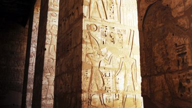 Photo of Archaeologists Find Rare Ancient Temple of Pharaoh Ptolemy VI in Upper Egypt