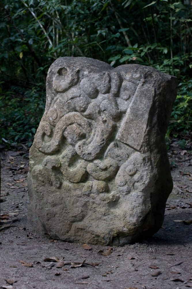 An Ancient Mayan Stela from El Mirador. Image Credit: Wikimedia Commons / CC BY-SA 2.0.