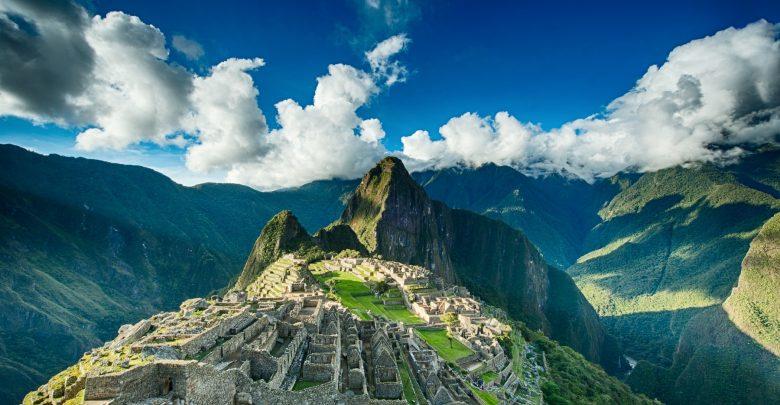 A view of the ancient Inca city of Macchu Picchu. Shutterstock.