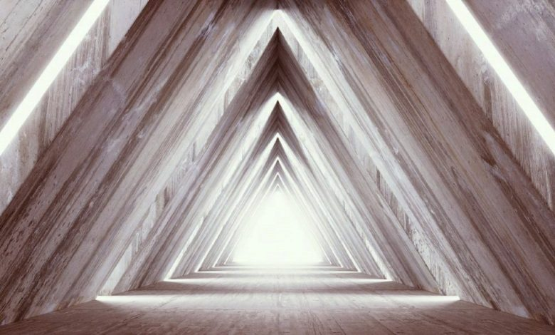 Artists rendering of Pyramid light. Shutterstock.