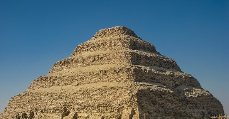 An image of the Step Pyramid of Djoser. Shutterstock.
