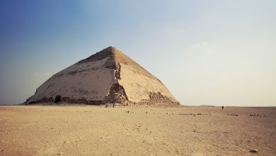 The Bent Pyramid at Dahshur. Shutterstock.